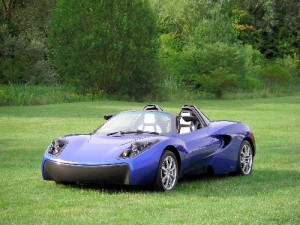 Toray T-Wave AR1 designed and built by Gordon Murray