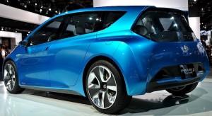 Toyota Prius c concept car perhaps shows Toyota Aqua hyrbid car styling