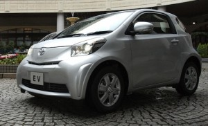 Toyota iQ EV electric city car to lease in 2012
