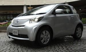 Toyota iQ EV electric city car to lease in 2012