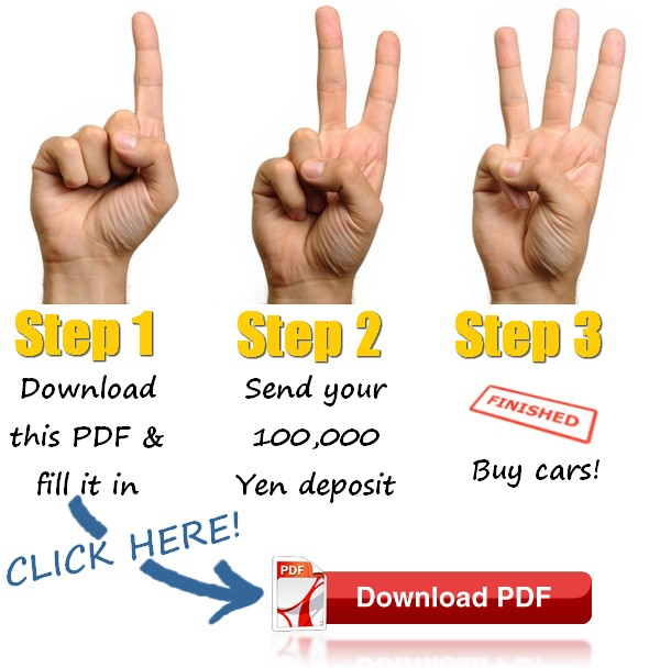 Get started buying from Japanese car auctions with Integrity Exports - click here