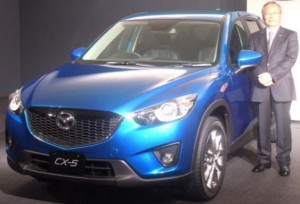 New Mazda CX-5 SUV with clean diesel coming Spring 2012 in Japan