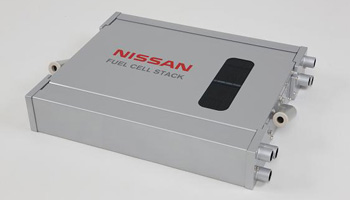 2011 Nissan fuel cell has 2.5 times power density of 2005 X-Trail FCV version