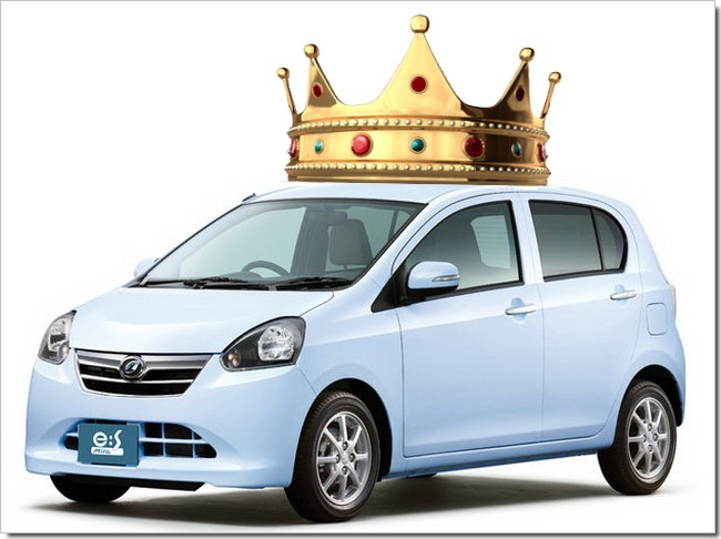 Daihatsu Mira e:S - could this be Japan's Car of the Year 2011 - 2012?