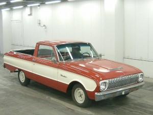 Ford Falcon Ranchero 1962 front