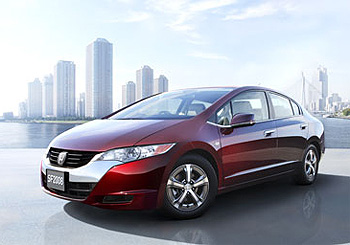 Honda FCX Clarity Hydrogen Fuel Cell Car