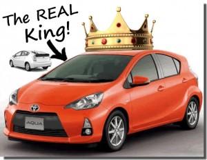 Toyota Aqua beats Prius in real Japan fuel-efficiency rankings