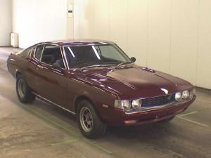Front of 1975 Toyota Celica