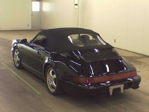 911 Speedster at auction in Japan -- Rear