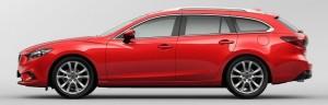 2013 Mazda Atenza Wagon Side View