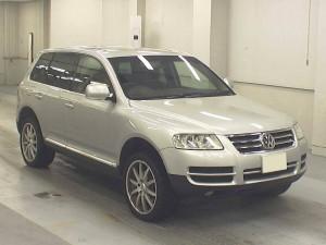 VW Touareg 2003 front