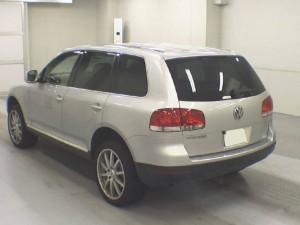 VW Touareg 2003 rear