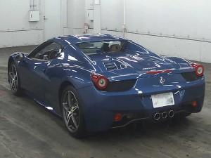 458 Spider Rear