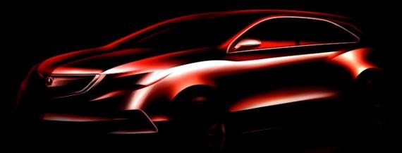 2014 Acura MDX teaser