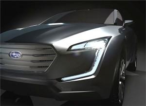 Subaru Viviz Concept Car