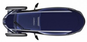 Toyota i-Road concept car
