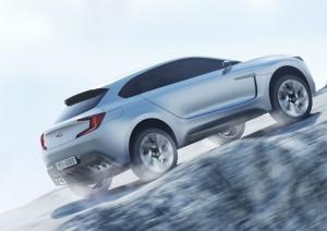 Subaru Viziv Hybrid Diesel Concept