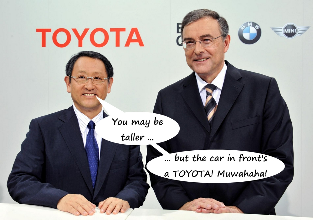 Toyota beats BMW in BrandZ 2013