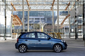 New Nissan Micra / March side view