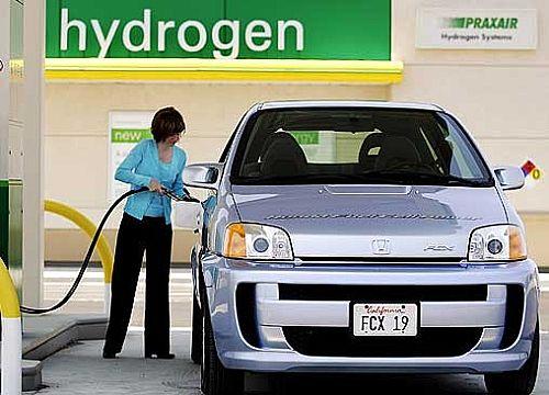 Honda hydrogen car