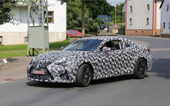 Lexus IS-F spy shot