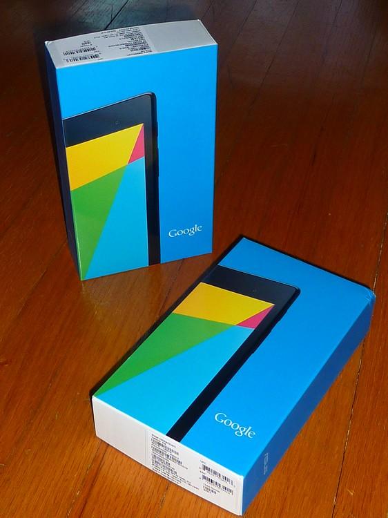 Google Nexus7 free gifts