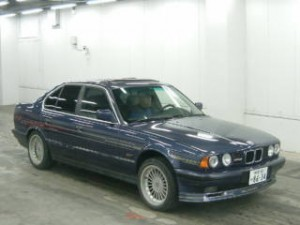 BMW Alpina B10 in car auction in Japan - front