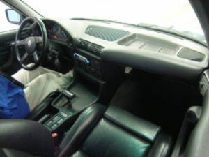 BMW Alpina B10 in car auction in Japan - interior