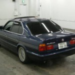 BMW Alpina B10 in car auction in Japan - rear