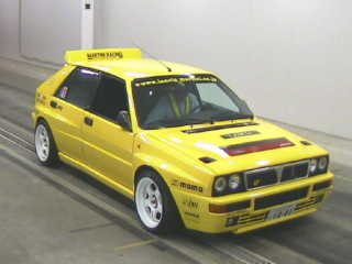 Lancia Delta Evolution II 1994 in the car auciton in Japan - front