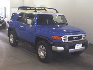 LHD 2007 Toyota FJ Cruiser - front