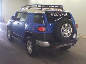 2007 Toyota LHD FJ Cruiser - rear