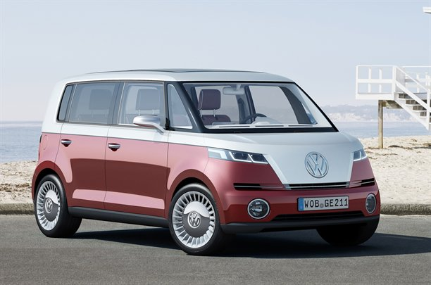 VW Bulli Microbus concept at Geneva Motorshow 2011