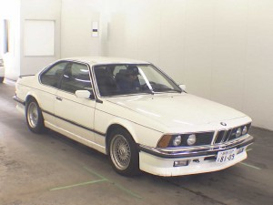 BMW M6 E24 from 1985 - Front View