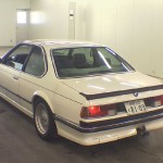 BMW M6 E24 from 1985 - Rear View