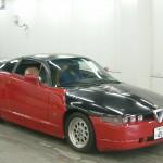Alfa Romeo SZ (Zagato) ES30 at a Japan car auction- front