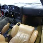 Alfa Romeo SZ (Zagato) ES30 at a Japan car auction - interior