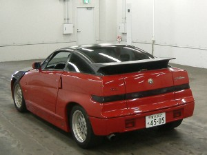 Alfa Romeo SZ (Zagato) ES30 at a Japan car auction - rear