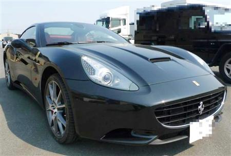 Ferrari California Auctioned by Tokyo Tax Office, Japan