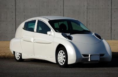 SIM LEI EV electric car from Japan's Keio University venture company SIM-Drive