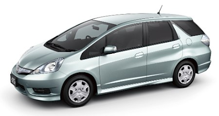 Honda Fit Shuttle Hybrid
