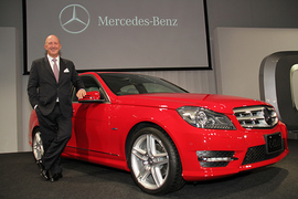 Mercedes Benz Japan launches new C Class 30 May 2011