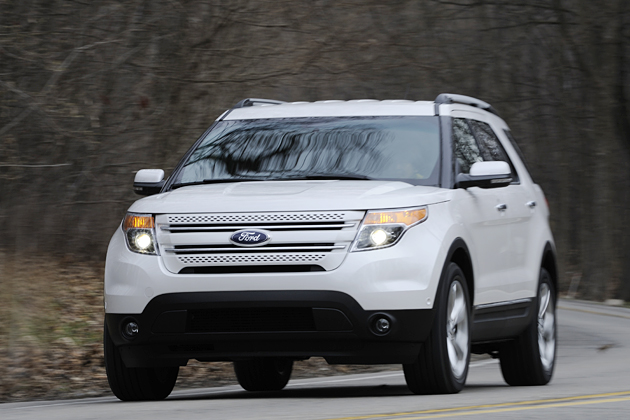 New Ford Explorer SUV launched in Japan May 2011