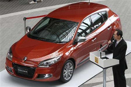 New third generation Renault Megane launched in Japan May 26th 2011