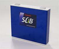 Toshiba SCiB lithium titanate oxide rechargeable EV battery