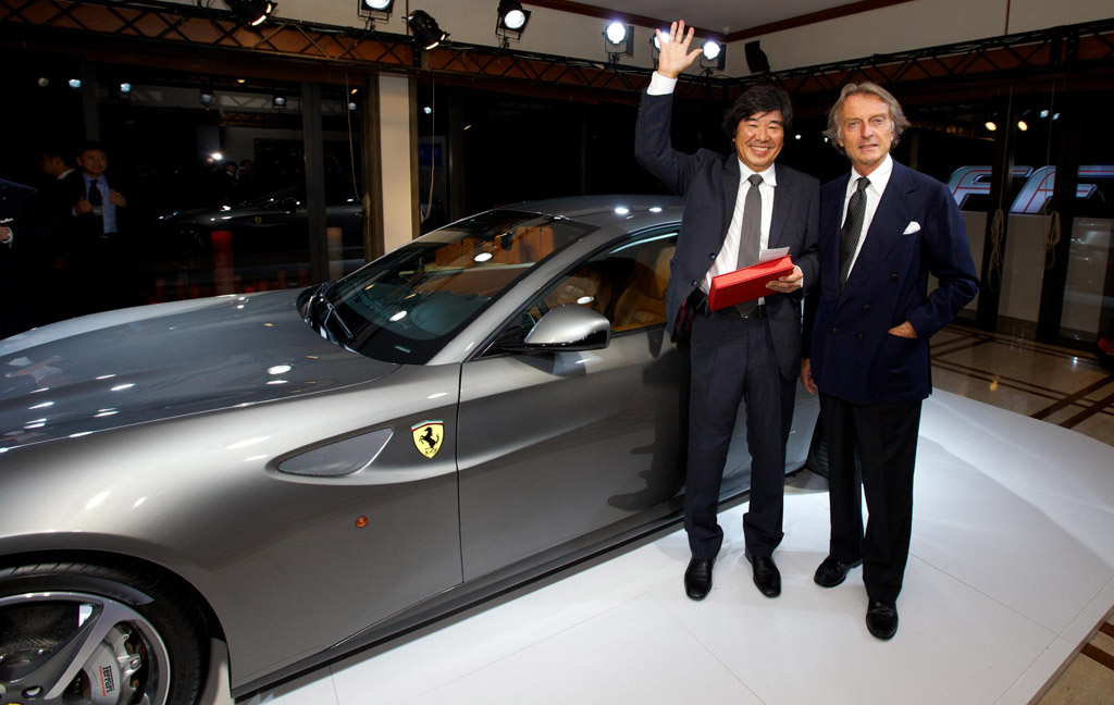 Ferrari auctions FF for earthquake victims in Japan