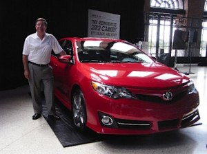 New 2012 Toyota Camry