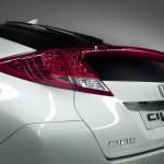 Civic 5-door new European model - rear