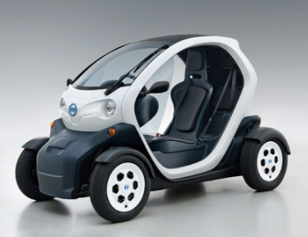 nissan new mobility concept 2 seater ev on yokohama streets from october japanese car auctions. Black Bedroom Furniture Sets. Home Design Ideas