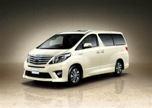 2011 Toyota Alphard Hybrid (also known as Toyota Vellfire Hybrid)